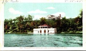 Minnesota Minneapolis Minikahda Club House and Lake Calhoun 1905