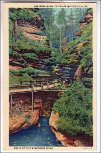 Moss Hung Cliffs, Witches Gulch, Dells Wis