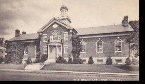Vermont Bennington The Bennington Free Library Collotype