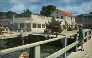 Port Jefferson Long Island NY Bayles Landing Postcard
