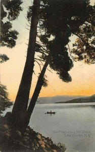 LP23 Lake George  New York Vintage Postcard Rotograph Publisher