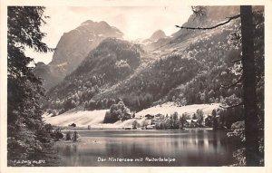 Der Hintersee mit Reitertalalpe Germany 192