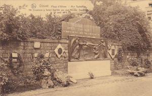 Belgium Dinant Place d'Albeau Mur Tschoffen
