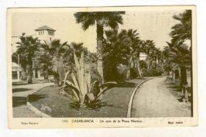 RP  Casablance, Morocco, 20-40s Un coin de la place Mermoz