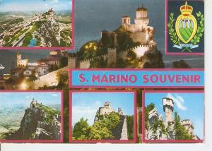 Postal 036983 : San Marino Souvenir