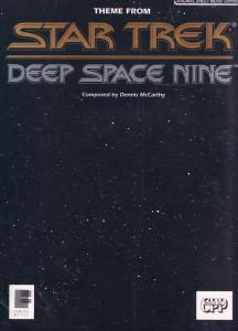 Deep Space Nine Theme Star Trek XL Sheet Music