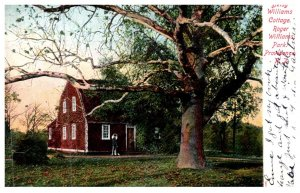 Rhode Island Providence , Roger Williams Park,  Betsey Williams Cottage