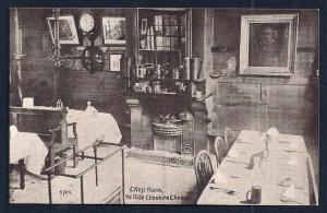 Chop Room 'Ye Olde Cheshire Cheese' England Unused c1910s