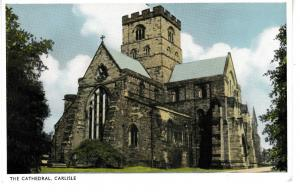 Post Card Cumbria Carlisle The Cathedral Dennis