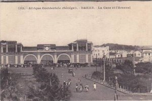 Senegal Dakar La Gare et l'Arsenal Railroad Station