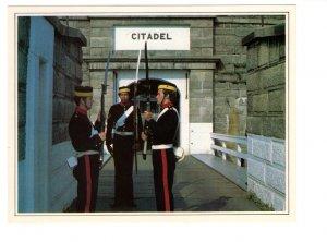 5 X 7 inch Soldiers Rifles, Royal Artillery, Halifax, Nova Scotia, Citadel Park