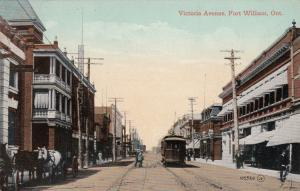 FORT WILLIAM , Canada, 00-10s ; Victoria avenue