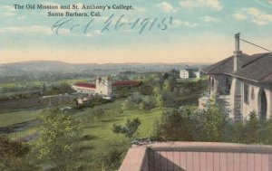 SANTA BARBARA, California, 00-10s; Old Mission and St. Anthony's College