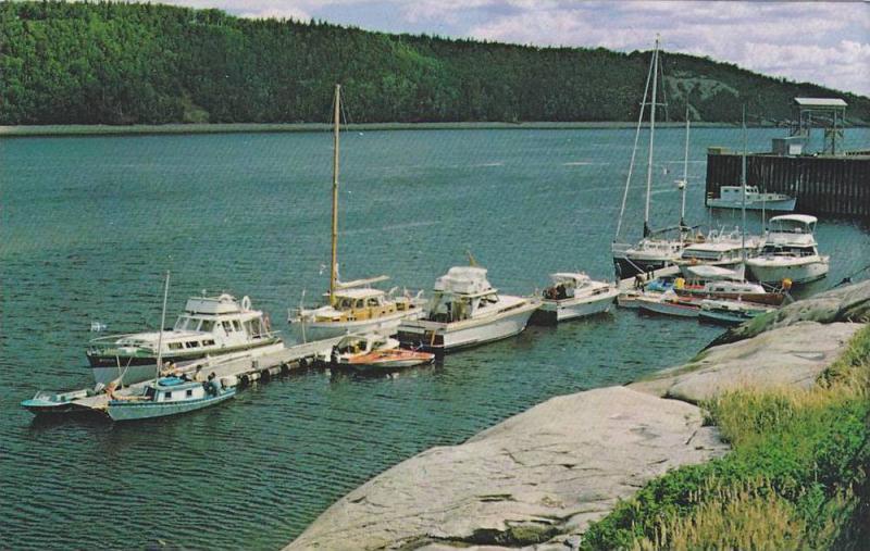 La Marina , A Tadoussac , Quebec , Canada , 50-60s