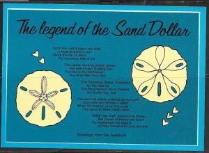 Florida, The Legend of the Sand Dollar, unused