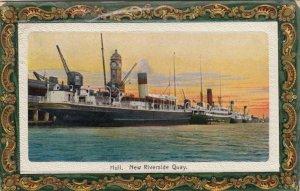 HULL , UK , 1916 ; New Riverside Quay