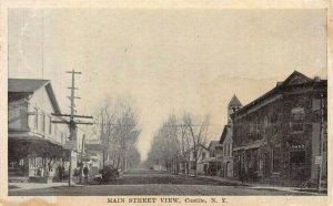 CASTILE NY~MAIN STREET-RALPH BOTTONE HIGH CLASS WOMEN & MEN SHOES~1917 POSTCARD