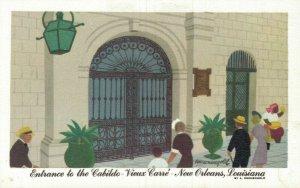 USA Entrance to Cabildo Vieux Carre Louisiana New Orleans A. Kronengold 05.57