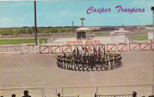 Casper Trooper in Their Famous Wagon Wheel Formation, Casper Rodeo, CASPER, W...