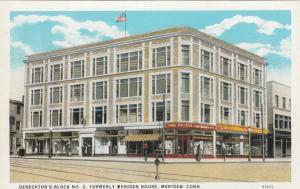 MERIDEN , Connecticut, 1910s ; Derecktor's Block No. 2