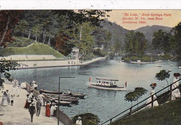 West Virginia Chester The Lake Rock Springs Park