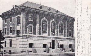 U S Govern Ment Building And Post Office Fergus Falls Minnesota