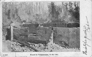 BR40196 brand te vriezenveen 16 mei 1905 netherland  Netherlands