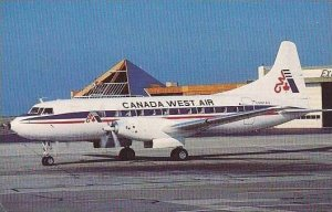 CANADA WEST AIR CONVAIR 640