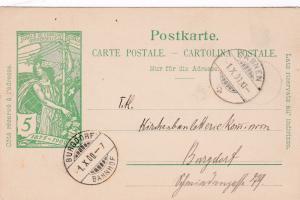 SARNEN, Switzerland , Postal card PU-1900