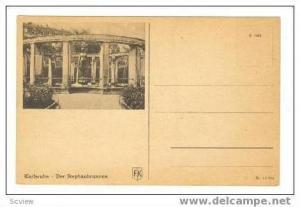 Karlsruhe, Der Stephanbrunnen, Germany, 00-10s