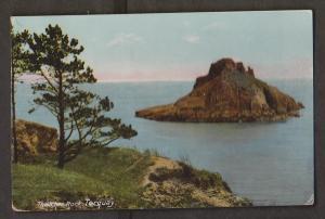 Thatcher Rock, Torquay Devon, England - Unused - Corner Wear