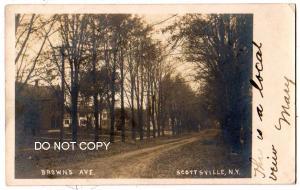 RPPC, Brown's Ave, Scottsville NY