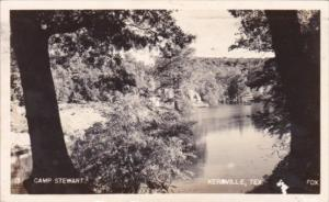 Camp Stewart Kerrville Texas 1946 Real Photo