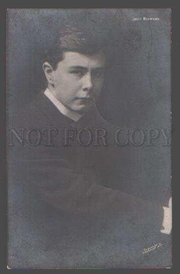105514 Young HOFMANN Polish American COMPOSER Pianist PHOTO