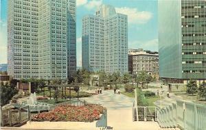 Pittsburgh Pennsylvania~Equitable Plaza Gateway Center~1960s Postcard