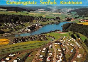 Campingplatz SeePark Kirchheim Hessen Gesamtansicht