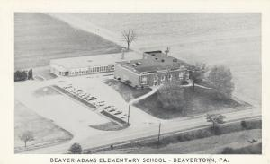BEAVERTOWN , Pennsylvania, 1930-50s; Beaver-Adams Elementary School