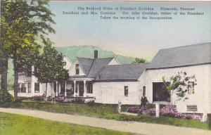 Boyhood Home of President Coolidge Plymouth Vermont Albertype