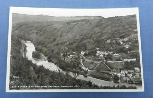 Vintage RP Postcard  Rapides And Island From Yat Rock Symonds Yat Hereford F1C