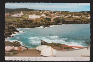 NEWFOUNDLAND - Fishing Boats In Pouch Cove - 1960s - Unused