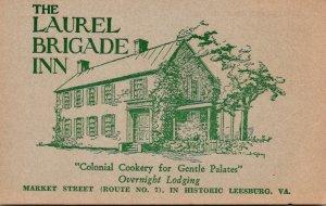Virginia Leesburg The Laurel Brigade Inn