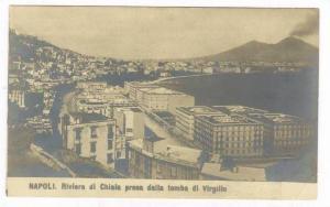 RP  NAPOLI. Riviera di Chiaia presa dalla tomba di Virgilio, Italy, 1890s-1905
