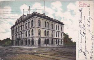 Illinois Springfield Post Office 1908
