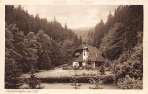 Thueringen Oberhof Gehlberg das Gloeckchen im Tal