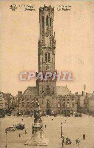 Postcard Old Bruges Belfry