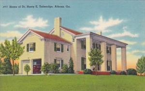 Home Of Dr Harry E Talmadge Athens Georgia