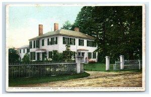 Postcard The Emerson House, Concord MA 1914 G33