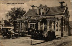 CPA APPINGEDAM Stations koffichuis NETHERLANDS (706243)