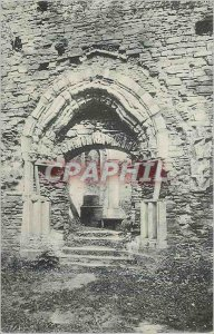 Old Postcard Villers Abbey Gate trefoil