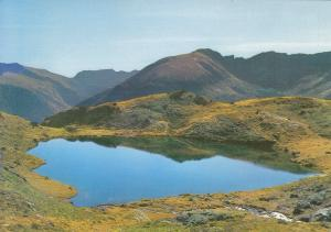 Postal 60958: El lago de Tristaina. El serrat (Andorra)
